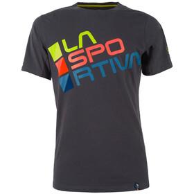 La Sportiva M's Square T-Shirt Carbon/Sulphur
